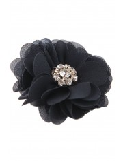 BLOOM CRYSTAL SILK HAIR CLIP