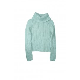 MOHAIR SWEATER PALE TURQUOISE