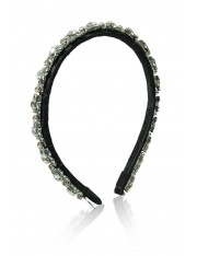 GRACE CRYSTAL RESIN HEADBAND