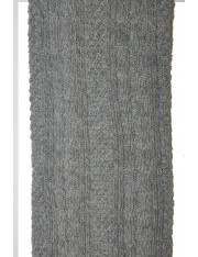 RIBBED-KNIT THIGH-HIGH SOCKS