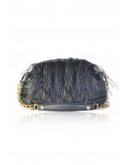 ALSACE FEATHERED OBI SHOULDER BAG
