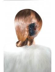 CLARA BOW クリスタル付櫛状のヘアクリップ