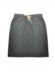 MIKO COTTON MIDI SKIRT GREY