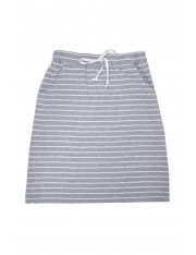 MIKO COTTON MIDI SKIRT STRIPED