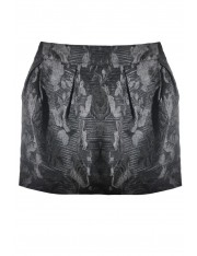 BELLAMY BROCADE MINI SKIRT