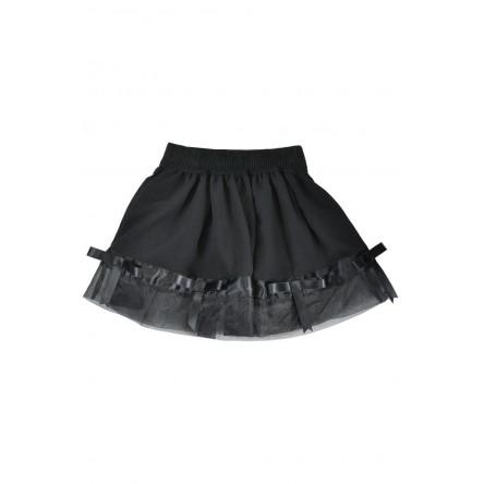 RIBBONED SKIRT ハンドメイドのリボンのスカート