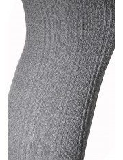 SOFT-RIBBED ABOVE THE KNEE SOCKS