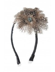 KIA FEATHERED HEADBAND