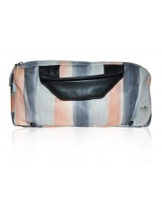 SERAPHINA HAND-PAINTED LEATHER SILVERY PEACH