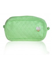 CORA MAKE-UP BAG APPLE NEON GREEN
