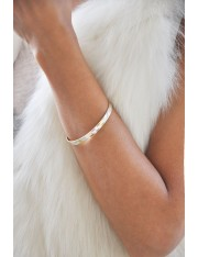 LESA 24-KARAT GOLD-PLATED STERLING BRACELET