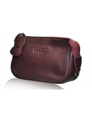 LUCY OXBLOOD LEATHER BAG