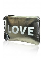 SUPER LOVE FAUX LEATHER BAG