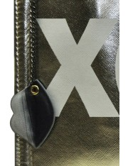 XOXO FAUX LEATHER LARGE CLUTCH
