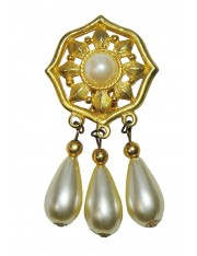 LINDON ANTIQUE DROP EARRINGS