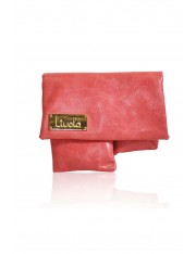 ORIGAMI LEATHER BAG CANDY PINK