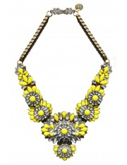 ALIX CRYSTALIZED STATEMENT NECKLACE