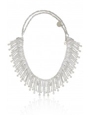 VIVIEN WATERFALL CRYSTAL NECKLACE
