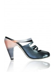ALBA LEATHER MULES - Sold Out