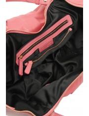 KARIN イタリア製レザーショルダーバッグ(ブラッシュ・ピンク)