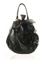 KAREN ROSE BAG CLASSIC BLACK - New Stock