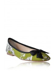 FELICITY PRINTED FLATS BY MONICA FIG
