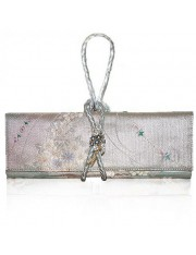 Florian.1 Obi Knot Leather Strap Clutch Bag