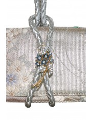 Florian.1 Obi Knot Leather Strap Clutch Bag