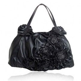 La Salle Italian Leather Shoulder Bag