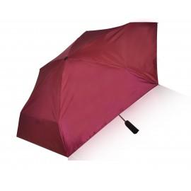 Eco-Friendly Alycia Rain Umbrella (with hidden bag) Rasberry Red