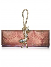 Maya.1 Obi Knot Leather Strap Clutch