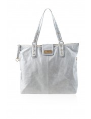 Kaia Leather Bag Dove Grey