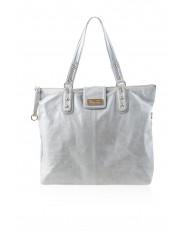 Kaia Leather Bag Dove Grey
